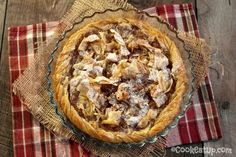 Nana's favorite Greek cooking recipes with photos and directions step by step. Cookie Dough Pie, Greek Desserts, Feta, Cheesecake, Food And Drink, Sweets, Bread, Cookies, Recipes