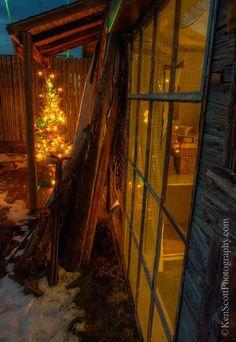 Christmas tree, Leland, Michigan