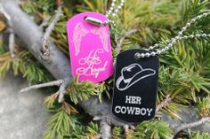 Cowboy and Angel Necklaces | Country Love Gifts