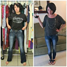 From Flared to Skinny: An Easy-Peasy Jeans ReFashion!