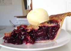 Cherry pie (tarta americana de cerezas)