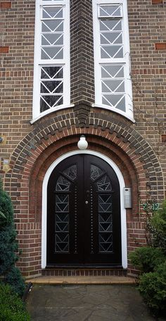 London~Art Deco Doorway: Chester Close by curry15, via Flickr