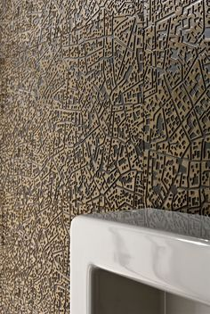 """City"" Ceramic Wall by Lea 