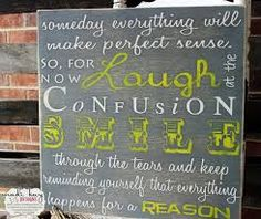 wood wall art with quotes - Google Search