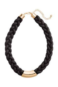 Collar trenzado | H&M