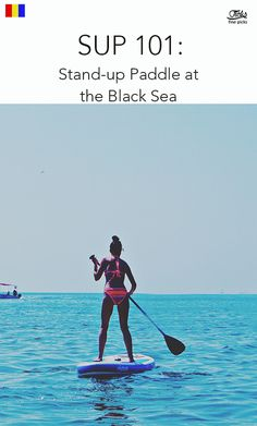 SUP 101: Stand-up Paddle at the Black Sea - I recommend the first experiences in the morning, when there are no waves - I recommend the induction with a specialist before trying, because there are details that make the difference (highlighting the gravity center on the board, positioning of the legs, length of the pad, etc.) See all Emergency Call, Black Sea, Paddle Boarding, Stand Up, Trauma, Disney Characters, Fictional Characters, Waves, Activities