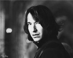 If ONLY this younger Alan Rickman could have been in the Potter films...at least flashbackage scenes!