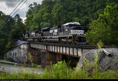 RailPictures.Net Photo: NS 1154 Norfolk Southern EMD SD70ACe at Dorchester, Virginia by Hunter Richardson