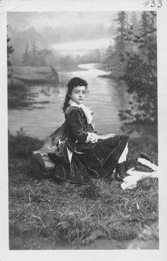Kaiulani, Princess of Hawaii, 1875-1899.