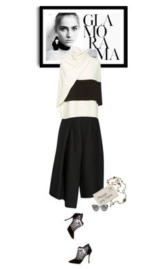 """Mondays - 12.10.15"" by matilda66 ❤ liked on Polyvore featuring TIBI, Nicholas Kirkwood, Derek Lam, Chanel and Anya Hindmarch"