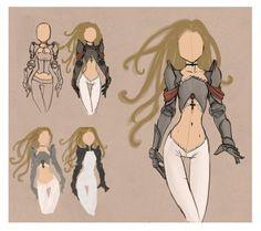 Goddess Sword 01 costume and color by tjentom