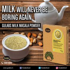 Milk Masala Powder for that Milk you always considered BORING.   #MilkMasalaPowder #Gulabs #Milk #food #powder #food