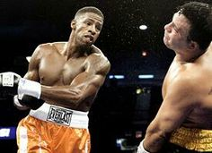 Kendall Gill - former basketball star briefly fought as a boxer after retiring from the NBA.