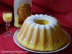 Boundt cake with eggnog (in slovak) Bábovka s vaječným likérom