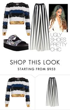 """""""PRETTY CHIC UGLY SHOES"""" by giovihoran05 on Polyvore featuring Sonia Rykiel, Tome and Jeffrey Campbell"""