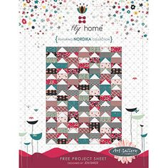 Fly Home @ Art Gallery Fabrics - Clm: free pattern, downloaded