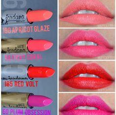 Lipsticks Jordana