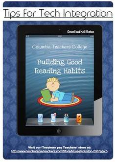 Building Good Habits Reader's Workshop iPad Tech Integration