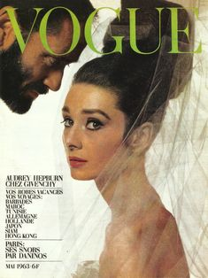 Audrey Hepburn and Mel Ferrer, Paris Vogue, May 1963