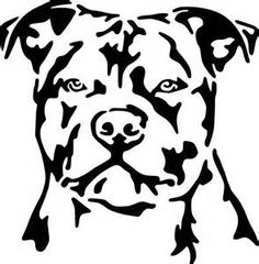 For your consideration is a die-cut vinyl Staffordshire Bull Terrier decal available in multiple sizes and colors. Vinyl decals will stick to Pitbull Tattoo, Dog Tattoos, Pit Bull, Staffordshire Bull Terrier, Bull Terrier Dog, Bullterrier Tattoo, Staffy Dog, Outline Art, Dog Outline
