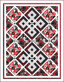 """Check out our FREE """"A Red Letter Day"""" quilt pattern using the collection, """"Seeing Red"""" by Maria Kalinowski for Kanvas Studio. Designed by Wendy Sheppard. Finished quilt size: x Jelly Roll Quilt Patterns, Star Quilt Patterns, Pattern Blocks, Plaid Patchwork, Plaid Quilt, Purple Quilts, Colorful Quilts, Quilting Tutorials, Quilting Designs"""