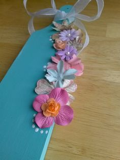 Sorority Paddle Floral Style by CraftsForGreeks on Etsy