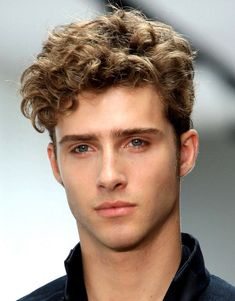 undercut curly hair male - Google Search