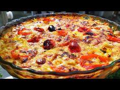 Το σουφλέ της Γκόλφως με μελιτζάνες και πατάτες που έχει τρελάνει το διαδίκτυο. Το πιο εύκολο σουφλέ με πατάτες, μελιτζάνες, σπιτική σάλτσα, μιξ τυριών, Avocado Egg Rolls, Greek Dishes, Appetizer Dips, Greek Recipes, Vegetable Pizza, Quiche, Casserole, I Am Awesome, Food And Drink