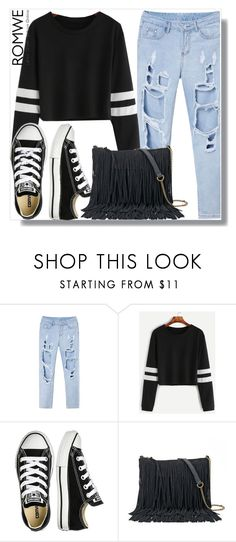 """""""romwe contest (simple)"""" by teto000 ❤ liked on Polyvore featuring Converse, SONOMA Goods for Life and romwe"""