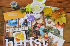 Vier Vandaag!: DIY - herfst snail mail boekje