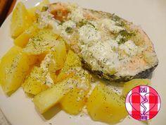 Salmone con panna acida e patate (la storia di Melania)