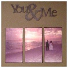 Wedding picture on canvas.. Great addition to any wall!