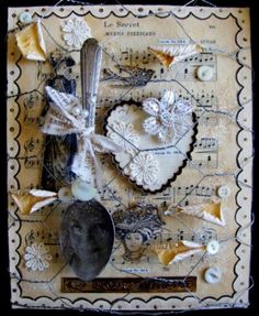 The Anatomy of a Design Team Canvas Altered Items, Antiquated Collection, Antiquated Collection Gallery, Everyday Life | Official Blog of Lisa M. Pace | It's in the Details