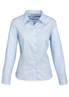 Code: BCS118LL Name: Ladies Luxe Long Sleeve Shirt BCS118LL Size: 18 | 12 | 20 | 22 | 24 | 10 | 14 | 16 | 6 | 8 Available Colours: Blue | White Description: 100