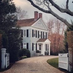 howieguja:  The Academy. One of my favorite homes in town. (at Bellport Village)