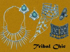 Accessorize Spring Summer 2014 Collection #Preview  #Jewellery #Accessories #Colourful #India #Mumbai #Tibal #Boho #Loud #Chic