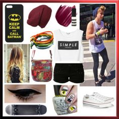 Too Cool For School, Too Lame For Fame -asleep-1035 My Summer 2014 look inspired by Luke Hemmings from 5 Seconds of Summer. 1 of 4 of my new collection, Summer 2014- 5SOS Inspired. Check it out! http://www.polyvore.com/summer_2014_5sos_inspired/collection?id=3674198  #5SOS #5SecondsOfSummer #LukeHemmings #Luke5SOS