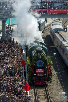 Gelio (Степанов Слава) - Празднование 70-летия Великой Победы в Новосибирске