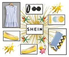 """""""shein"""" by amraa-145 ❤ liked on Polyvore featuring Prada, Frances Valentine and Clinique"""