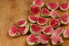 Roasted Watermelon Radishes with Goat Cheese