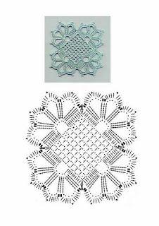 Receitas de Crochet: Blusa rendada verão                                                                                                                                                                                 Mais