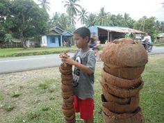 Mengenal Tradisi Bakar Gunung Api di Bengkulu