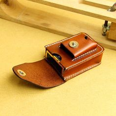 Handmade Sewing Cigarette Zipoo Lighter Holder Bag Case by Rochid