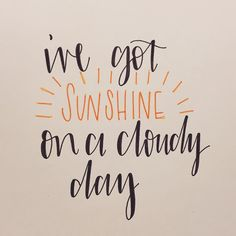 With my girl! #thetemptations #moderncalligraphy #fauxcalligraphy #quoteoftheday #lettering #handlettered #type #typography #sunshine #quote #cloudyday #mygirl #doodle #word