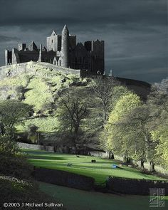 Rock of Cashel, Ireland   - photo by Michael Sullivan - been here, too...somehow my picture isn't this cool...  i love st. patrick's day and Ireland!