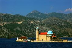 Our Lady of the Rocks island. Montenegro, 2010 by Kate_Lokteva, via Flickr