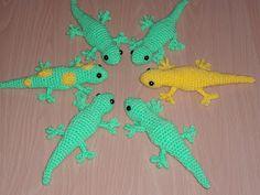 Cosy a Go Go: Free Crochet Gecko Pattern