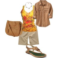 Cruise 2012 by janet-lindsey-mitchell on Polyvore featuring Old Navy, Aéropostale, Sperry Top-Sider, Forever 21 and FOSSIL
