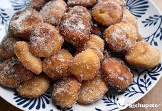 buñuelos de manzana-  http://recetasderechupete.hola.com/bunuelos-de-manzana/12233/http://recetasderechupete.hola.com/bunuelos-de-manzana/12233/