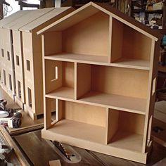 New Doll House Cardboard Children Ideas